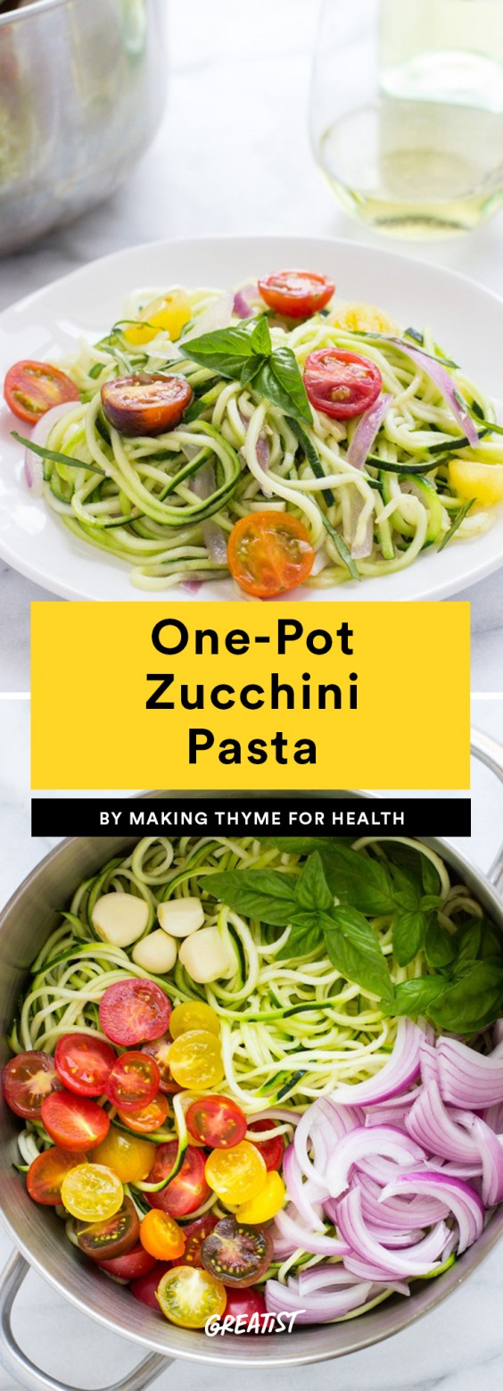 One-Pot Zucchini Pasta