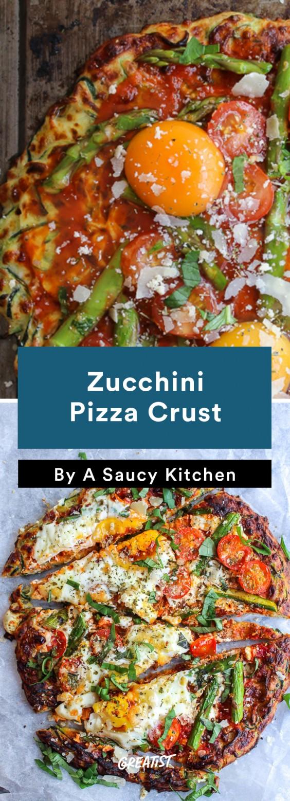 Zucchini Carbs: Pizza Crust