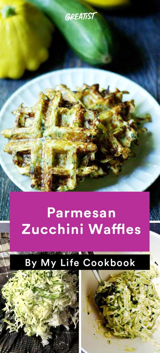 Zucchini Carbs: Waffles