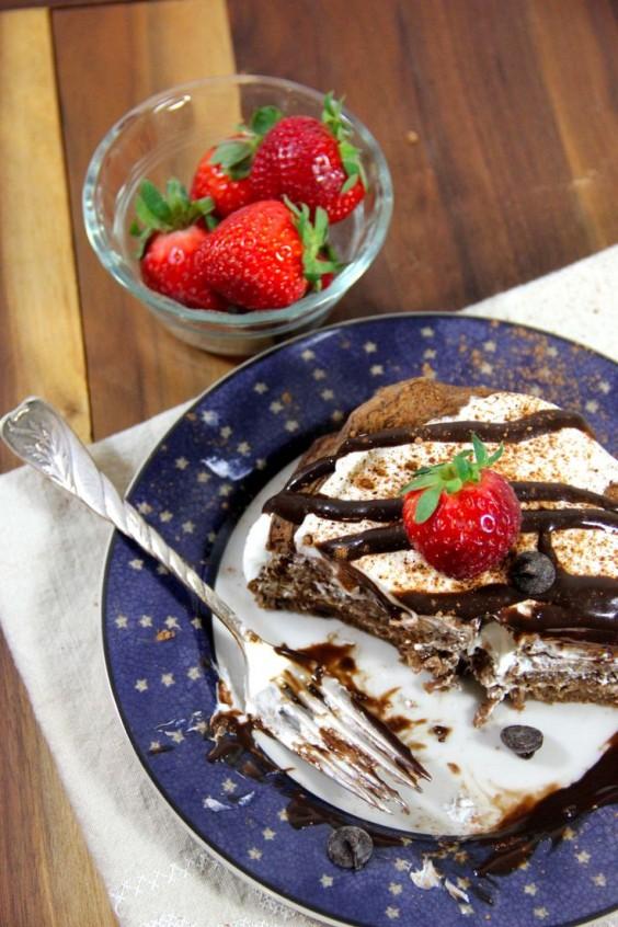 Protein Pancake: Tiramisu