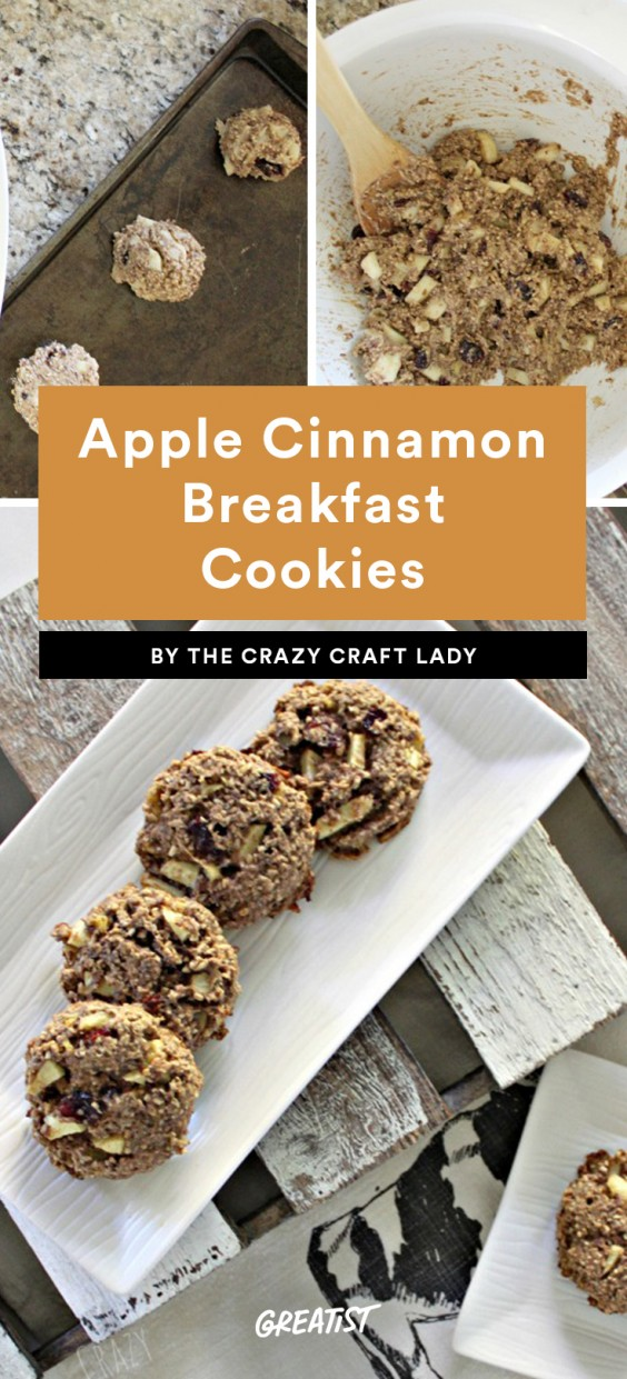 Apple Cinnamon Breakfast Cookie