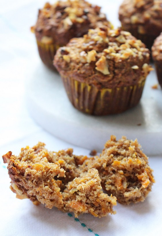 Overripe Fruit: Apple and Carrot Muffins