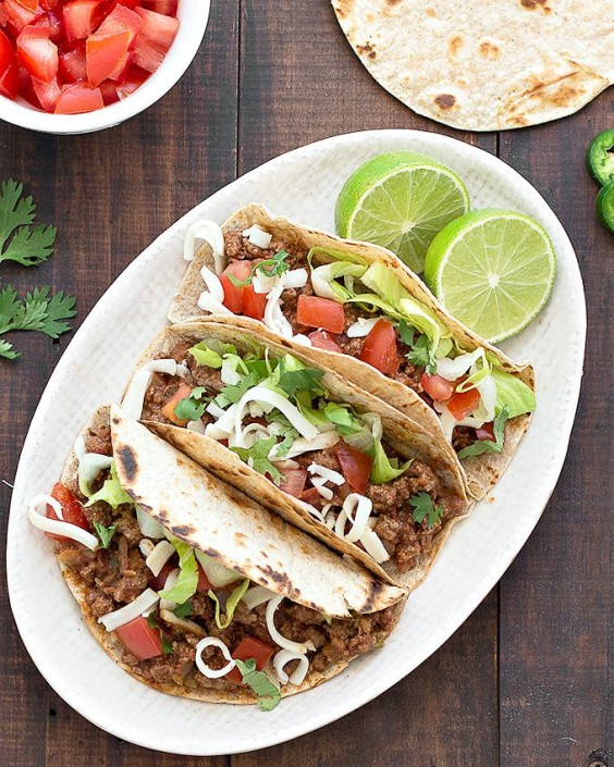Easy Ground Beef Taco Salad Recipe: Healthy Tacos: 32 Recipes To Try Right Now