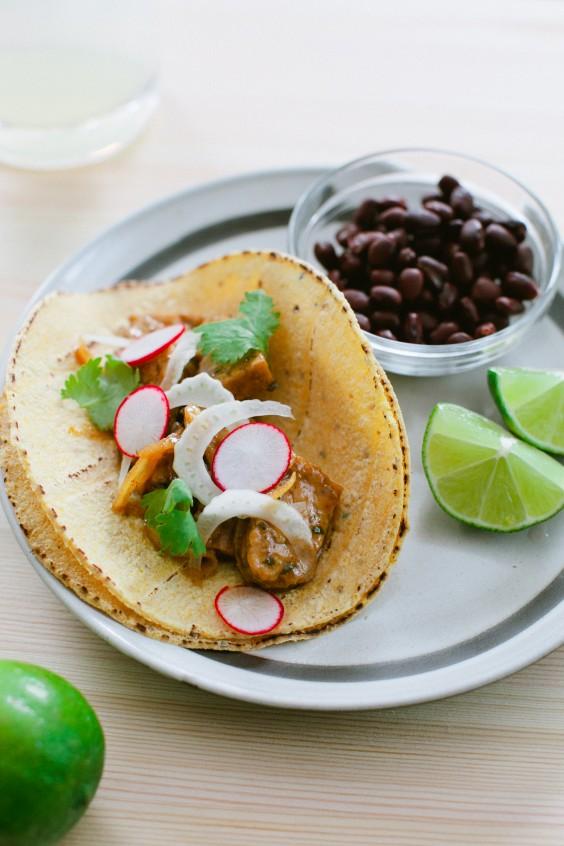 Healthy Tacos: Jamaican Jerk Tempeh Tacos