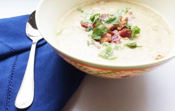 Whole30 Bacon & Potato Soup