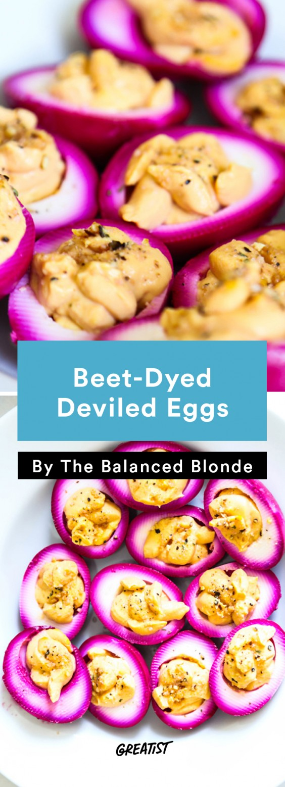 Balanced Blonde: Deviled Eggs