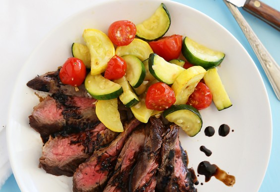 Balsamic Skirt Steak