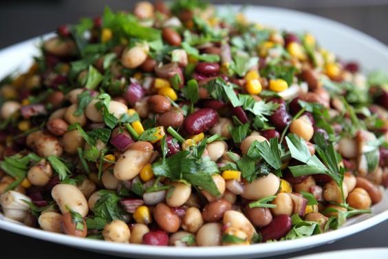 Under Dollar Foods: Pinto Bean Salad