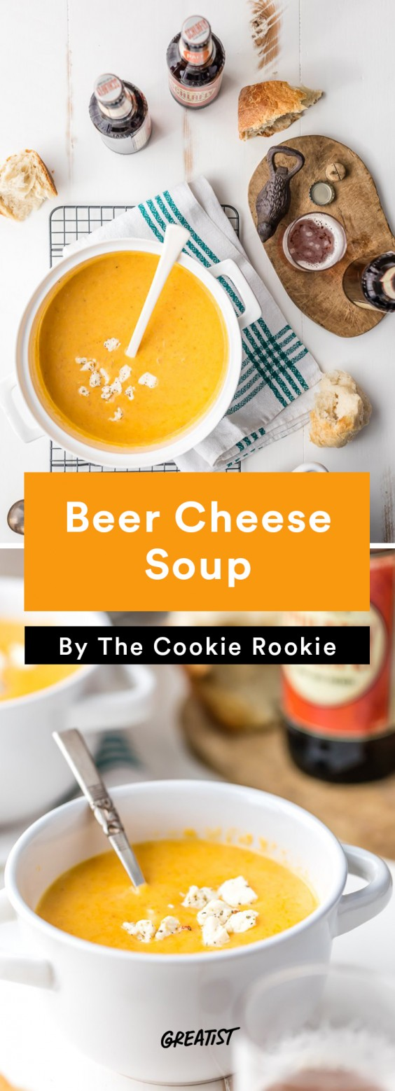 oktoberfest: Beer Cheese Soup