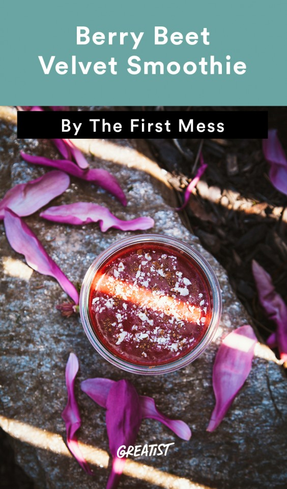 First Mess roundup: Berry Beet Velvet Smoothie