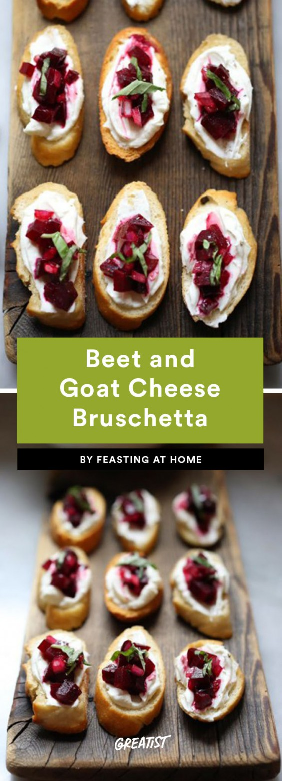 bruschetta: beet