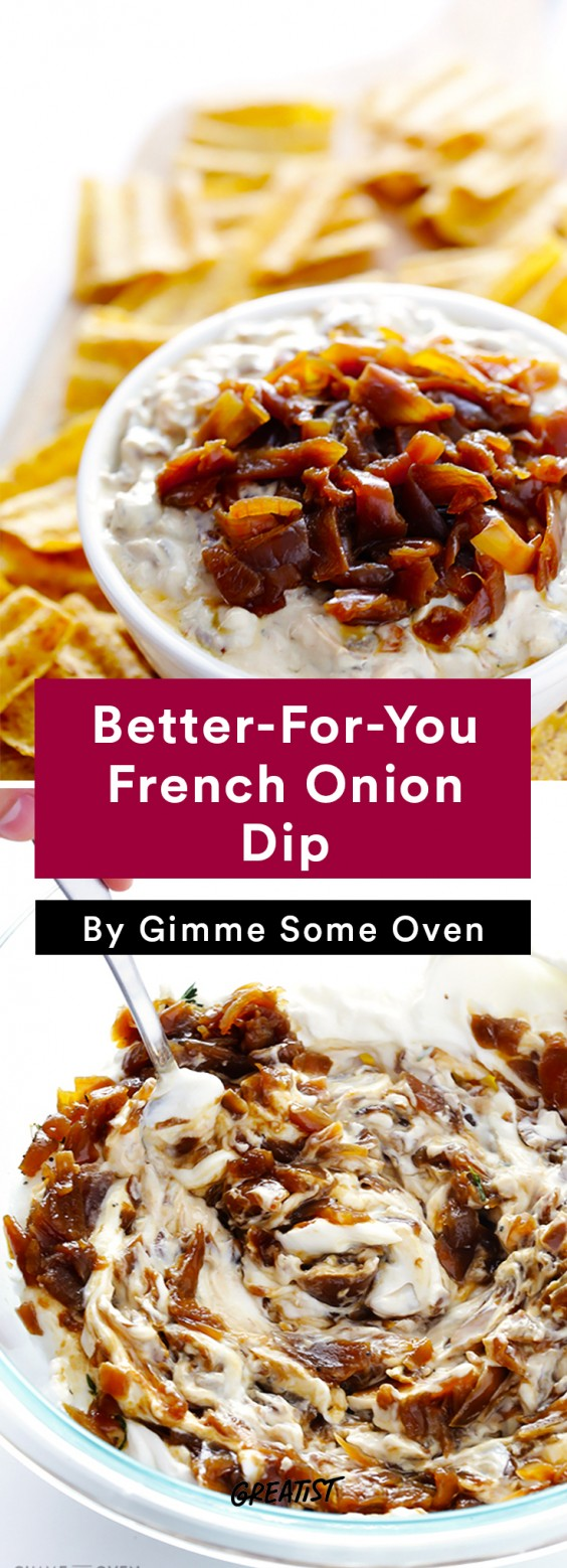 Better Dips: Onion Dip