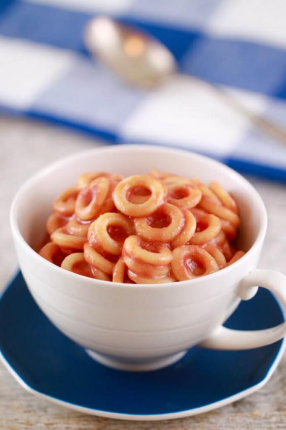 Mug Meals: Spaghetti-Os