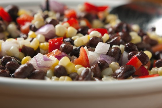 Under Dollar Foods: Black Bean Salad
