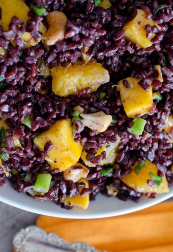 Picnic: Back rice salad