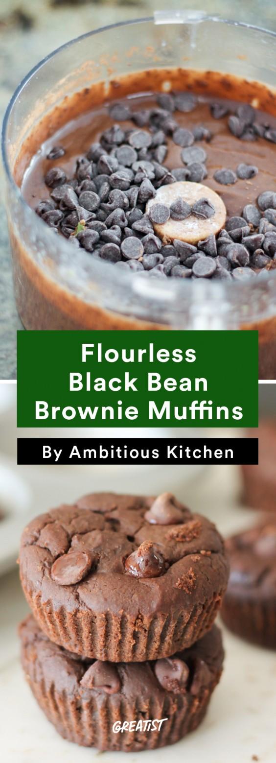 Ambitious Kitchen Roundup: Black Bean Muffin