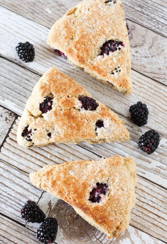 Overripe Fruit: Blackberry Scone