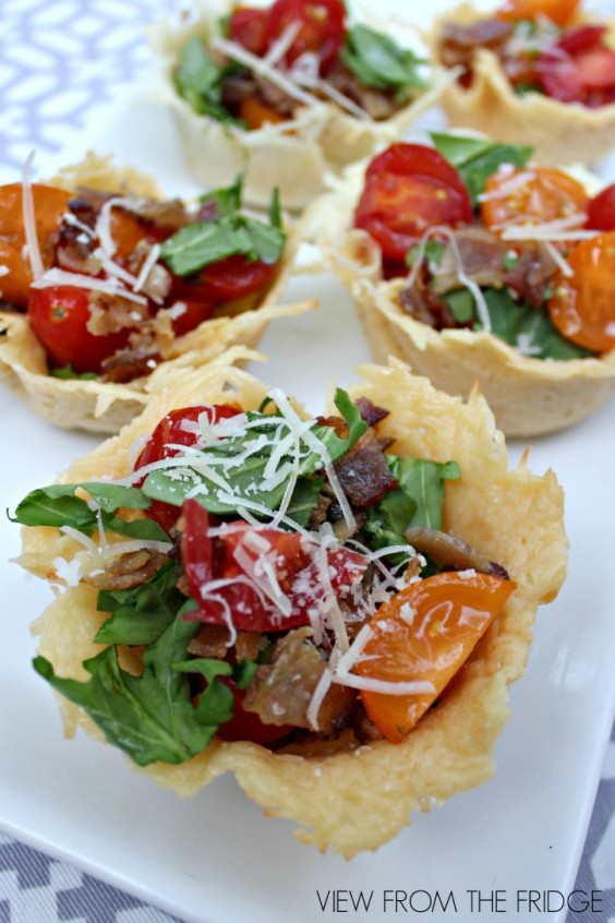 BLT Salad Cups