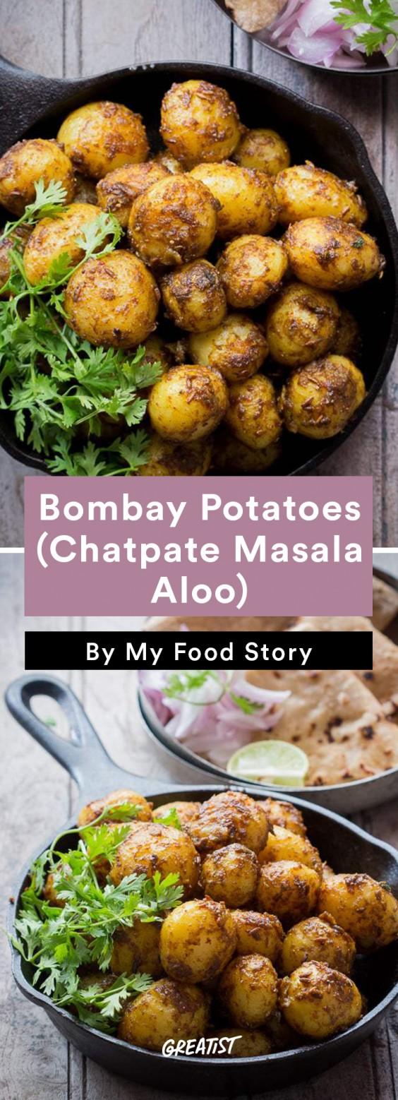 my food story: Bombay Potatoes