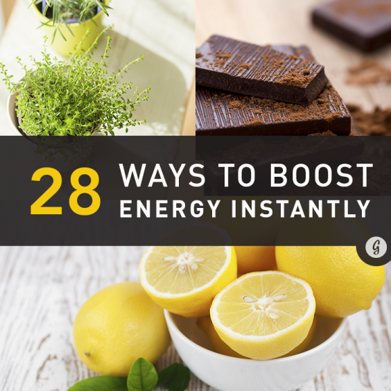 28 Science-Backed Ways to Boost Energy Instantly Greatist