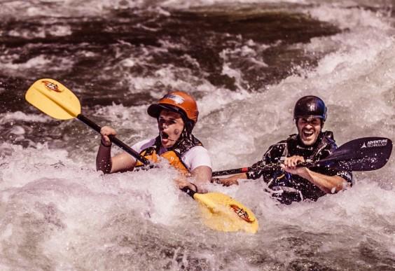Brad Ludden Kayaking