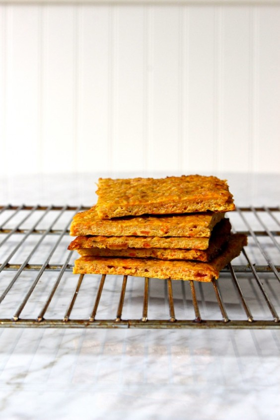 veg as carbs: carrot bread