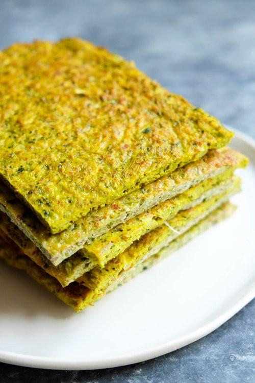 veg as carbs: broccoli bread