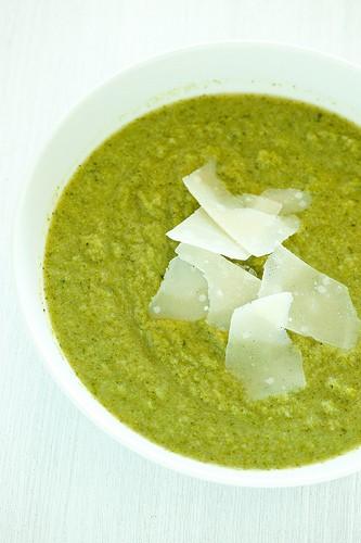 29. Broccoli and Parmesan Soup