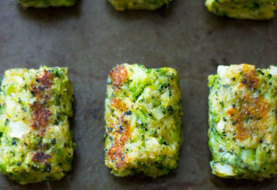 1. Healthy Baked Broccoli Tots