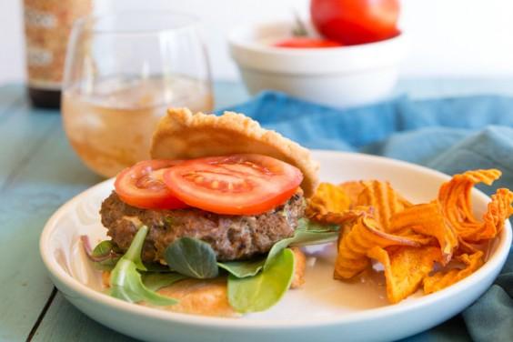 Paleo Cajun Burger