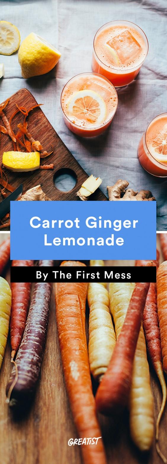 First Mess roundup: Carrot Ginger Lemonade