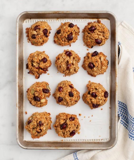 Veg Desserts: Carrot Breakfast Cookies