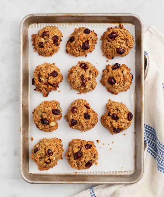 Veg Desserts: Carrot Breakfast Cookies