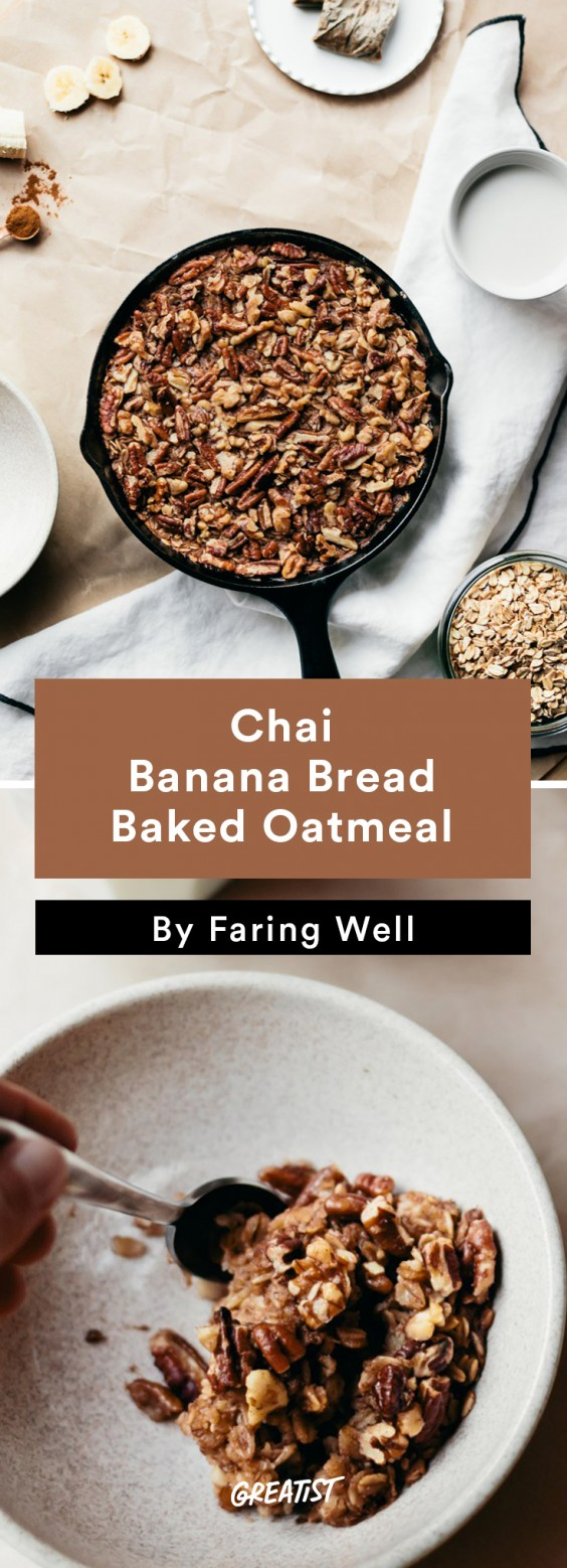 Fall Brunch: Chai Baked Oatmeal