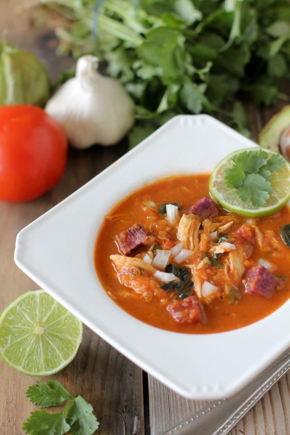 whole30: Tortilla-less Soup