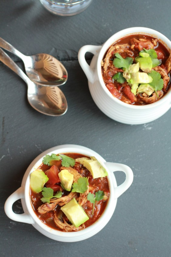 Chipotle Chicken Chocolate Chili