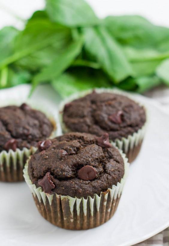 Veg Desserts: Chocolate Spinach Cupcakes