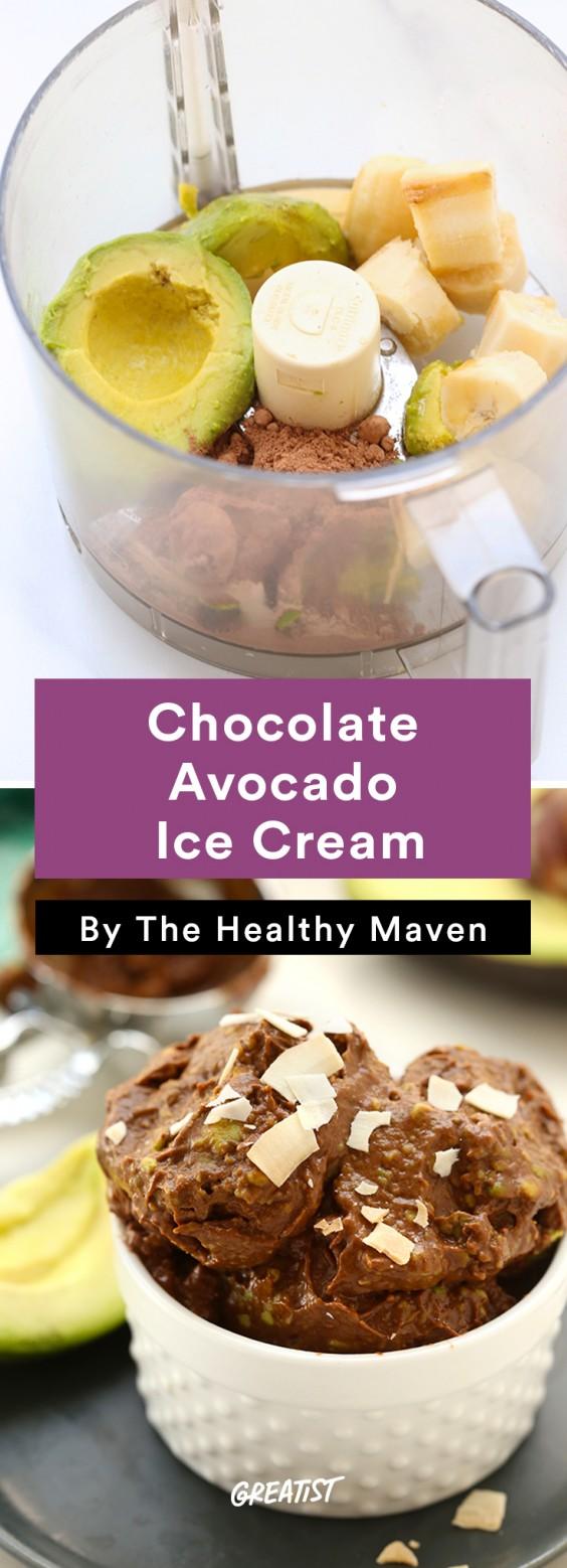 No-Churn Ice Cream: Chocolate Avocado