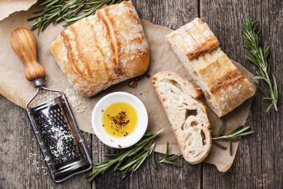 Ciabatta with Olive Oil