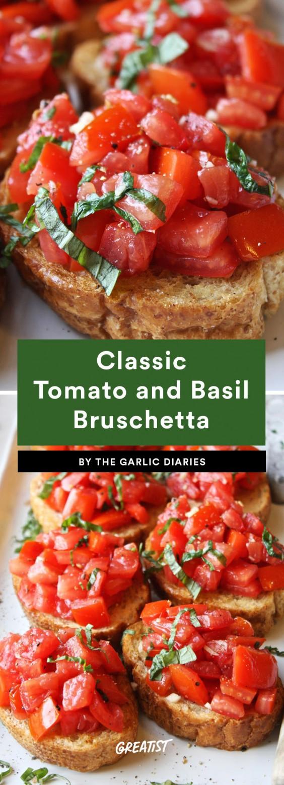 bruschetta: classic