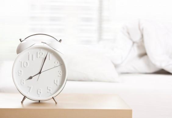 Clock in Bedroom