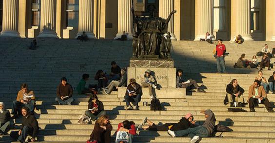 25 Healthiest Colleges: Columbia