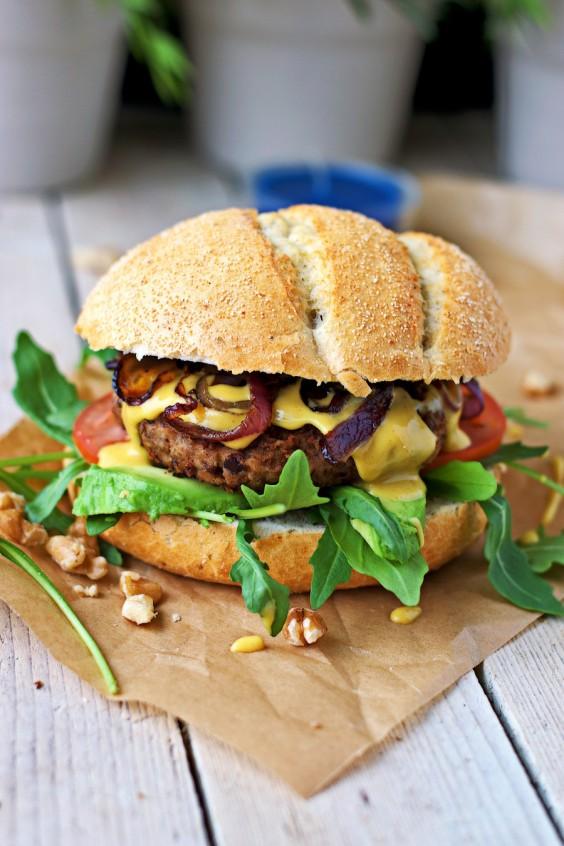Veggie Burgers: Lentil