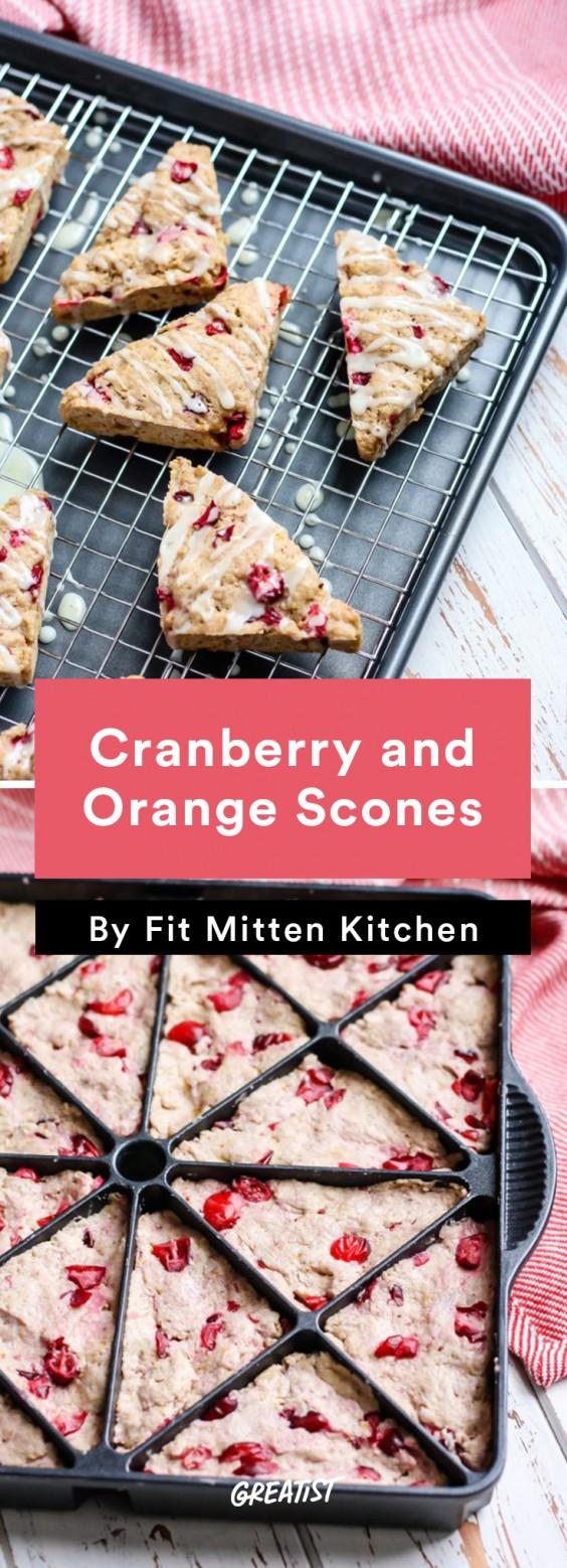 Fall Brunch: Cranberry Scones