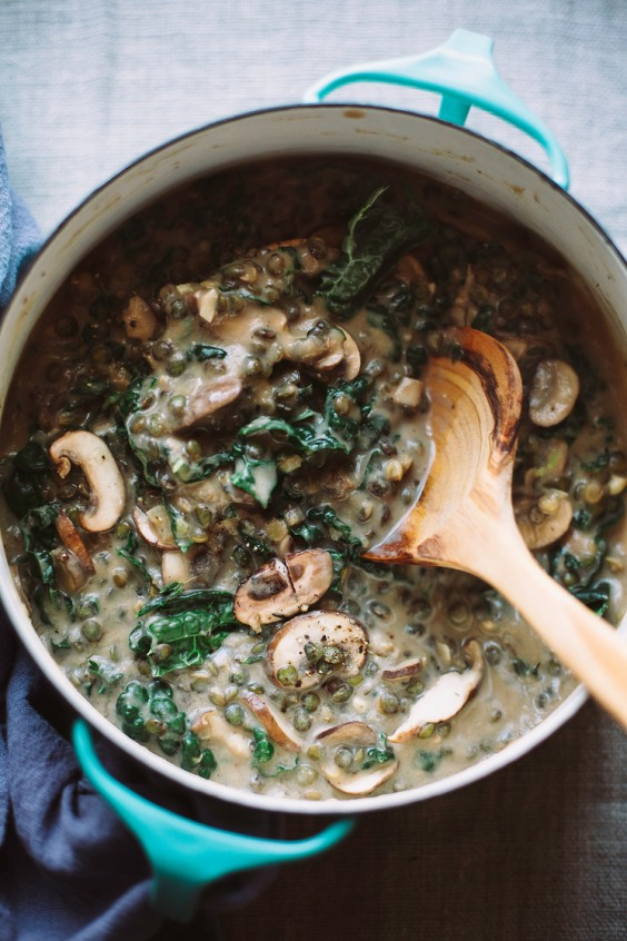 Stovetop mistakes: Creamy French Lentils