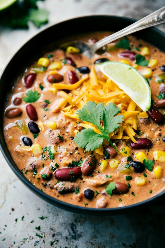 Slow cooker: Chili