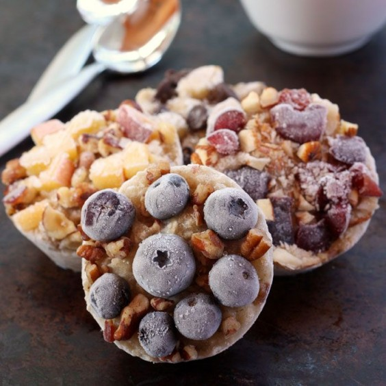 Freezer Meals: Oatmeal Cups