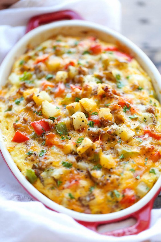 Freezer Meals: Breakast Casserole
