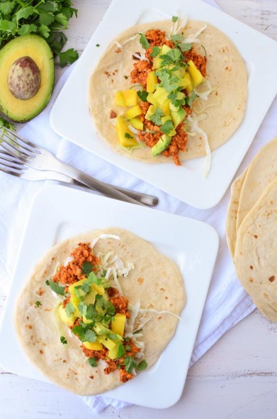 Healthy Tacos: Chipotle Tempeh
