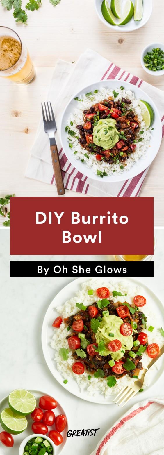 oh she glows bowl: Burrito Bowl
